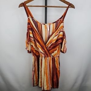 Xhilaration Cold Shoulder Romper